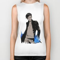 bane Biker Tanks featuring Magnus Bane by The Radioactive Peach