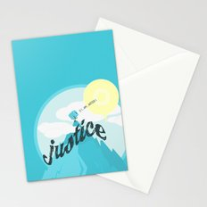 Justice !.. Stationery Cards