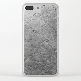 Textured Wall Clear iPhone Case