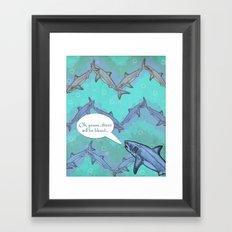 Sharkron 2 Framed Art Print