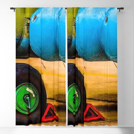 Landing Wheel Of A Military Attack Helicopter Blackout Curtain