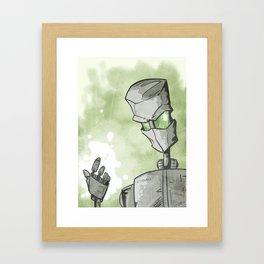 Palm of My Hand Framed Art Print