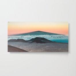 Mauna Kea Shadow Metal Print