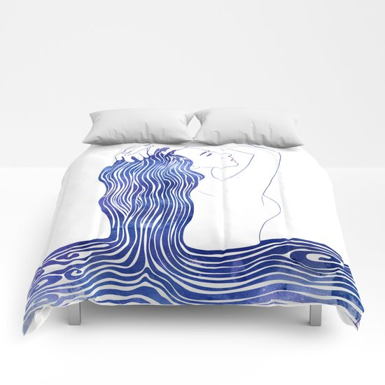 Water Nymph XXXIX Comforters