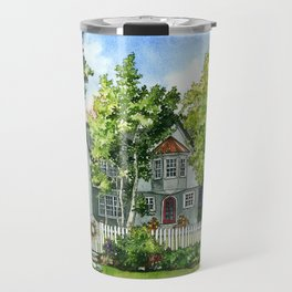 The Red Door Travel Mug