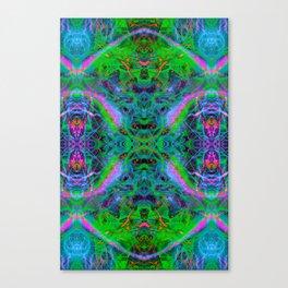 Techno Electric IV (Ultraviolet) Canvas Print