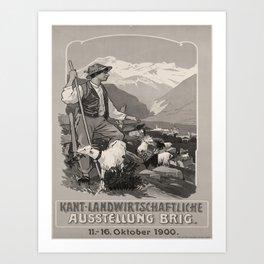 Affiche 1900 Brig Art Print