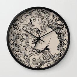 Cosmic Lover Wall Clock