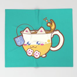 Kittea Throw Blanket