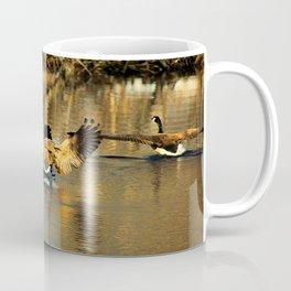 Canadian Geese: Three's a Crowd Coffee Mug
