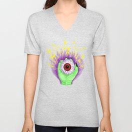 Electric Eye Unisex V-Neck