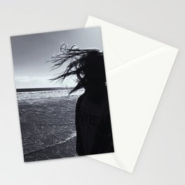 Windy Beach Stationery Cards