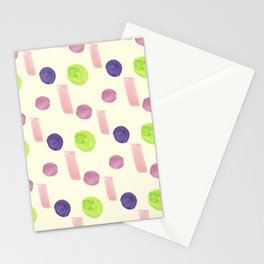 Geometric circle abstract pattren design 2021 Stationery Cards
