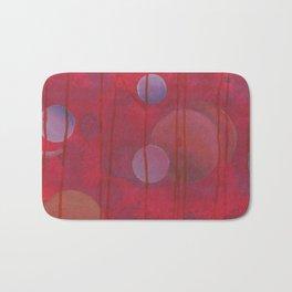 reddish sphere Bath Mat