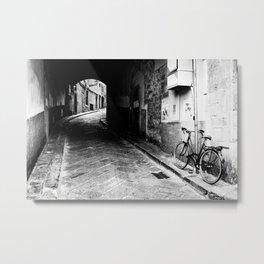 Bicicletta (Florence) Metal Print