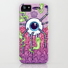 In The Land Of The Blind iPhone Case