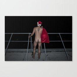 Santa is Coming.... Canvas Print