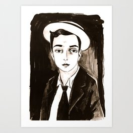 Buster Keaton per un'amica Art Print