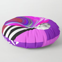 SELFISH FUCSIA Floor Pillow