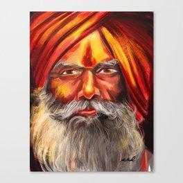 Indian Yogi Canvas Print