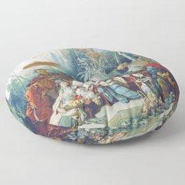 Le Jardin Chinois by François Boucher Floor Pillow
