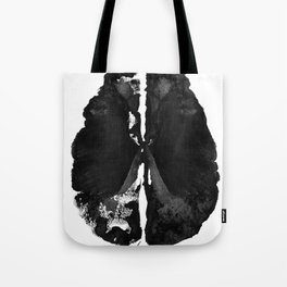 Inkblot Brain Tote Bag