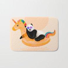 Chillin (Unicorn Panda) Bath Mat