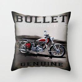Genuine Bullet Throw Pillow