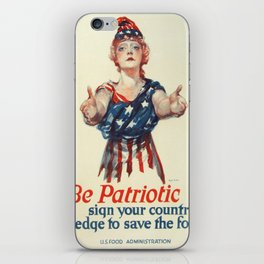 Vintage poster - Be a Ship's Officer iPhone Skin