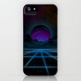 Outrun-2 iPhone Case