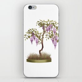 Wisteria . Tree . iPhone Skin