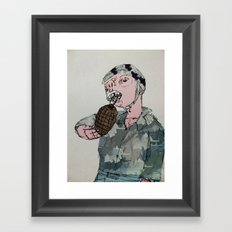 This is War by Debbie Porter - Designs of an Eclectique Heart Framed Art Print
