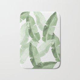 Tropical Leaves 2 Bath Mat