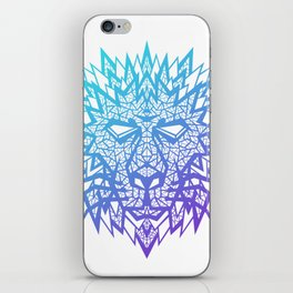Heart of a Lion iPhone Skin
