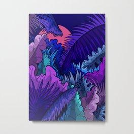 A warm jungle night Metal Print