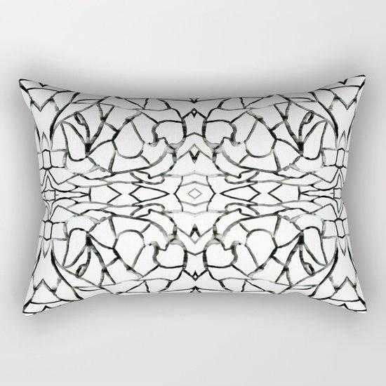 Abstract pattern 91A Rectangular Pillow