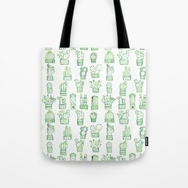 Cacti Collection Tote Bag