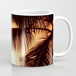 Perfect Palm Sunset (Color) Coffee Mug