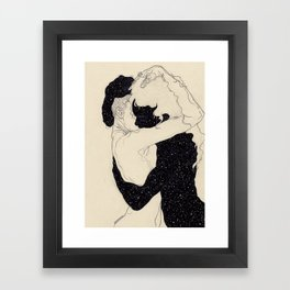 You Are The Theory In My Head Framed Art Print