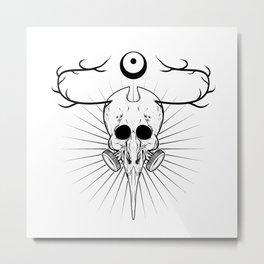 unNone  Metal Print