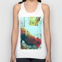 cock Tank Tops featuring cock by habish