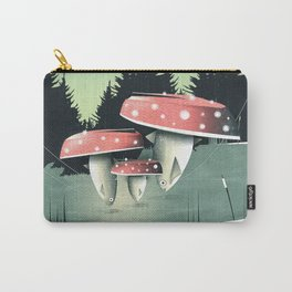 Fishing for Mushrooms Carry-All Pouch