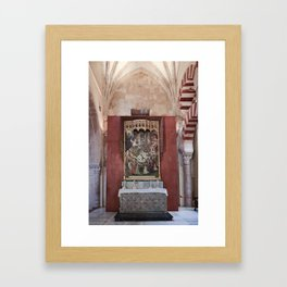 Conjoined Faiths (Mosque-Cathedral of Cordoba) Framed Art Print