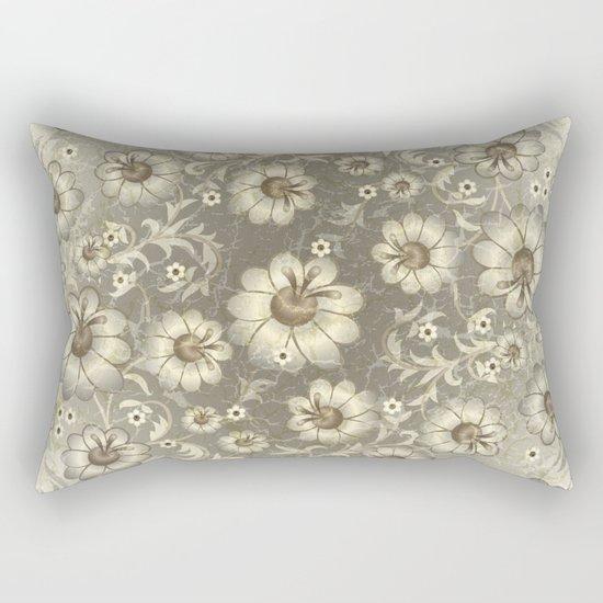 Shabby flowers #12 Rectangular Pillow