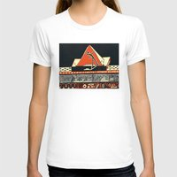 pyramid T-shirts featuring pyramid by pcart