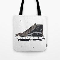 vans Tote Bags featuring Vans Sk8-hi's by shoooes