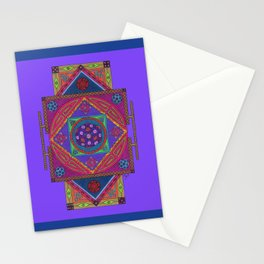 Just Another Roll of the Dice (Blue) Stationery Cards