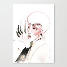 Long Nails in the House of Velour Canvas Print