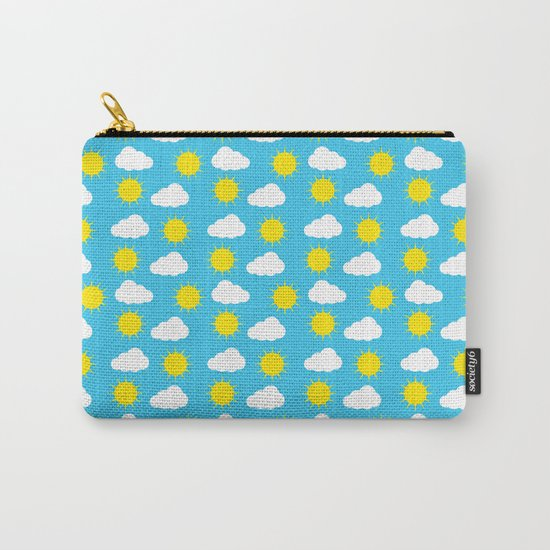 Sun & Clouds Carry-All Pouch
