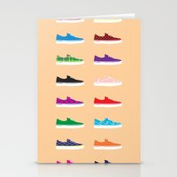 vans Stationery Cards featuring Vans by Kayla Ivey